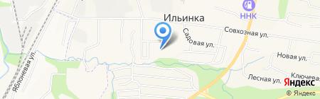 Средняя общеобразовательная школа на карте Ильинки