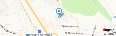 Гардиан на карте Хабаровска