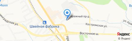Недвижимость плюс на карте Хабаровска