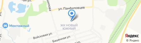 Детский сад №33 на карте Хабаровска