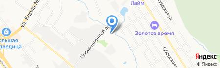 Форсаж-ДВ на карте Хабаровска