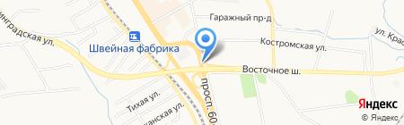 Вкусный Ташкент на карте Хабаровска