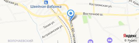 Банкомат Дальневосточный банк на карте Хабаровска