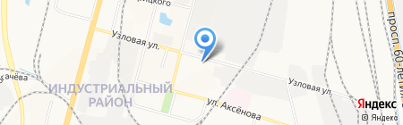 Магазин контрактных автозапчастей на карте Хабаровска