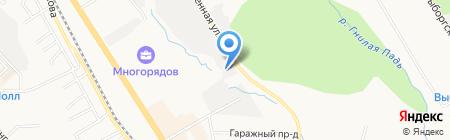 Мастер Плюс на карте Хабаровска
