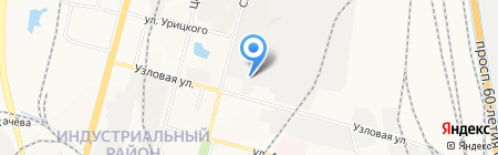 Банкомат АКБ Росбанк на карте Хабаровска