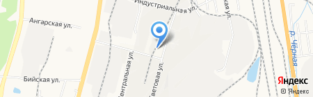НИКАС на карте Хабаровска