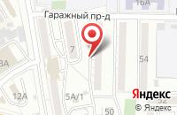 Схема проезда до компании Фрейм в Хабаровске