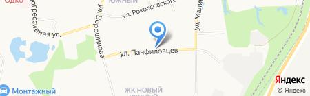 АЮтри на карте Хабаровска