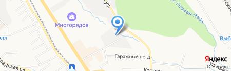 Цех мебели на карте Хабаровска
