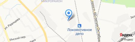 Хабторгоборудование на карте Хабаровска
