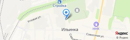 Мебельный дискаунтер на карте Ильинки