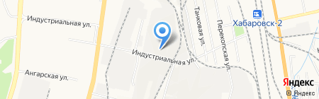 Август на карте Хабаровска