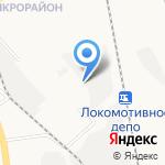Марион на карте Хабаровска