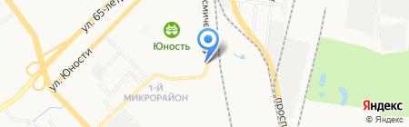Фарком на карте Хабаровска