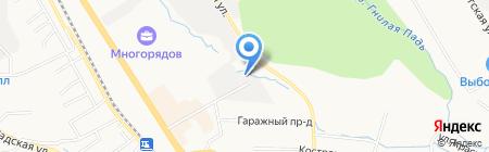Шинторг ДВ на карте Хабаровска