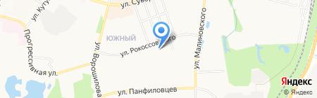 Unity на карте Хабаровска