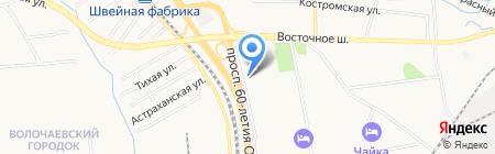 Пон-Пон на карте Хабаровска