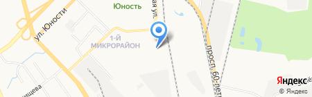 Дом ветеранов Индустриального района на карте Хабаровска