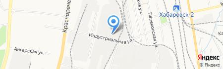 Дальуралсервис на карте Хабаровска