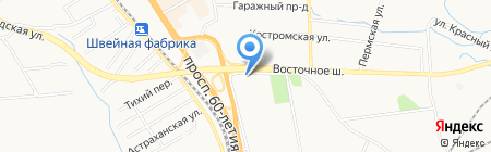 Дальневосточный банк Сбербанка России на карте Хабаровска