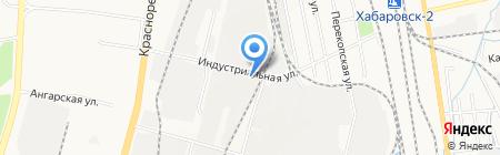 Колос-хлеб-торг на карте Хабаровска