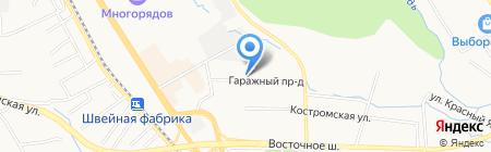 Детский сад №196 на карте Хабаровска