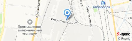 Автомаркет на карте Хабаровска