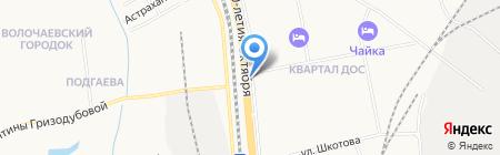 Автомагазин на карте Хабаровска