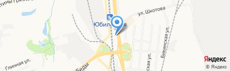 Автостоянка на ул. 60 лет Октября проспект на карте Хабаровска