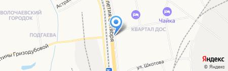 ЭталонДВ на карте Хабаровска