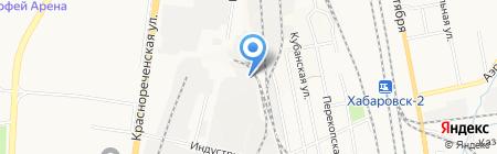 Молочный край на карте Хабаровска