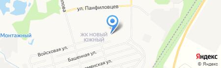 Средняя общеобразовательная школа №85 на карте Хабаровска