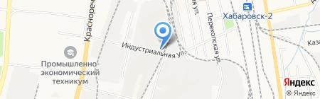 ИнструментСнаб на карте Хабаровска