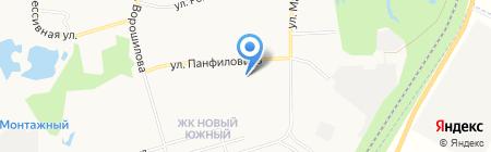 РСК Монолит-ДВ на карте Хабаровска