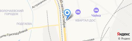Магазин цветов на карте Хабаровска