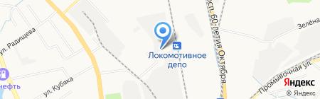 Офсет Студия на карте Хабаровска