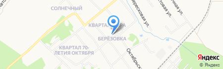 Крис-ДВ на карте Хабаровска