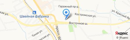 Вика+ на карте Хабаровска