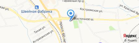 Рай на карте Хабаровска