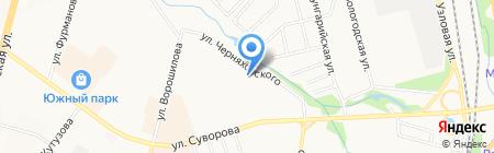 Я сам на карте Хабаровска
