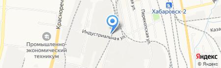 Артекс на карте Хабаровска