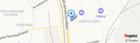 Якутские колбасы на карте Хабаровска