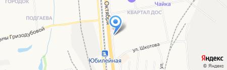 Дозор на карте Хабаровска