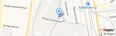 Компания СМС ДВ на карте Хабаровска