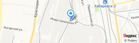 Юником-Восток на карте Хабаровска