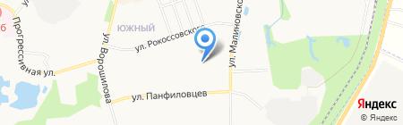 Детский сад №7 на карте Хабаровска