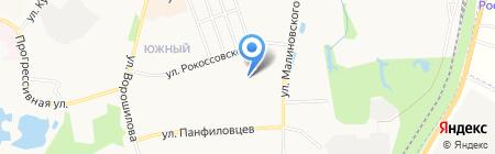 Средняя общеобразовательная школа №53 на карте Хабаровска