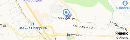 Детский сад №83 на карте Хабаровска
