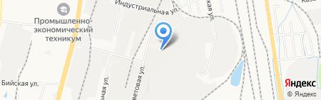 АвтоБЕЛ на карте Хабаровска